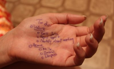 hand, list