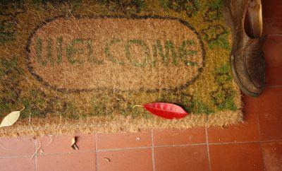 welcome mat, decor