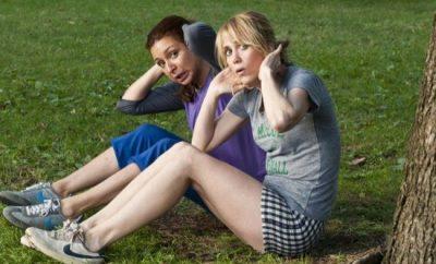 Bridesmaids Kristen Wiig and Maya Rudolph