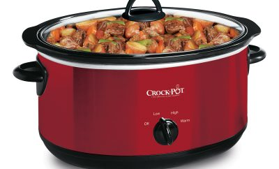 chicken fajitas in a slow cooker