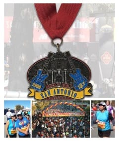Rock and Roll Half marathon San Antonio, TX