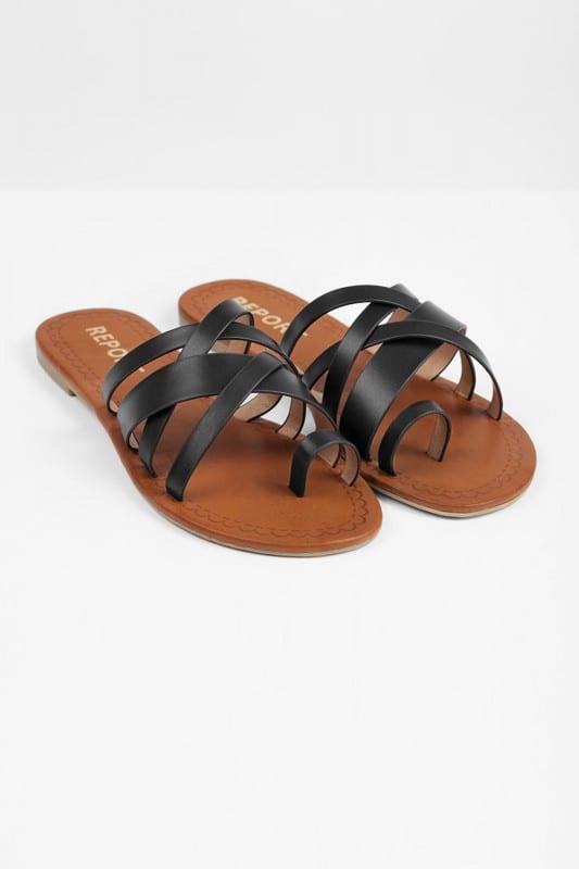 black-gyselle-strappy-slides2x shoes