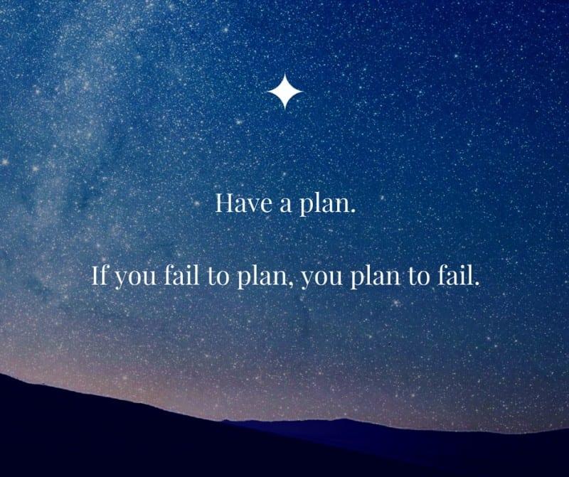 investing success plan