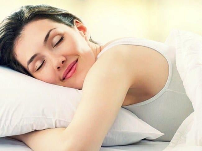 losing weight sleep