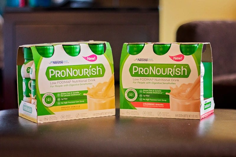 ProNourish Drinks in cases used during morning routines