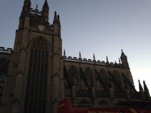vacation in England-Bath