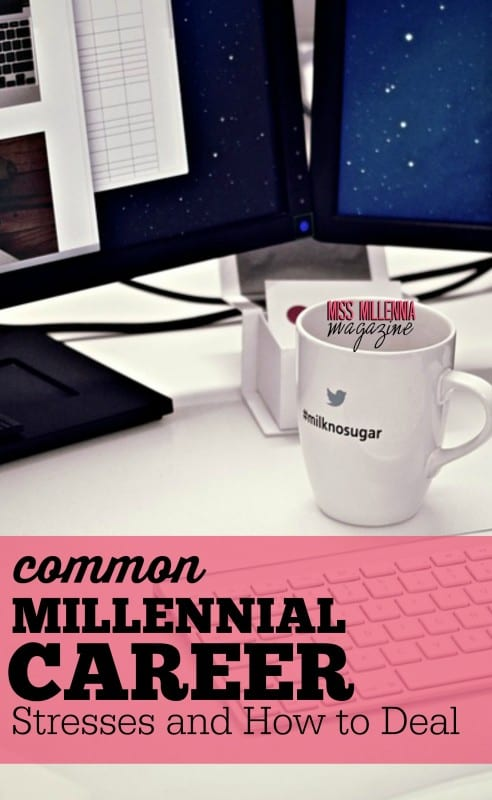 There are several aspects of a millennial career that commonly cause stress. So it's important to learn how to deal with them.